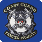 Coast Guard Semper Paratus Skull