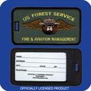 SMOKEY/USFS FIRE & AVIATION MANAGEMENT LUGGAGE TAG