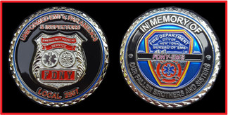 FDNY EMS Local 2507 Coin
