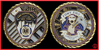 FDNY EMS COMPETITION COIN