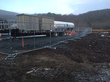 Temporary Galvanized Chain Link Fence