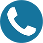 Blue White Telephone Icon.png