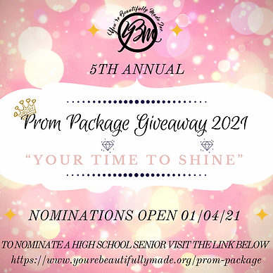 Prom Package Giveaway 2021