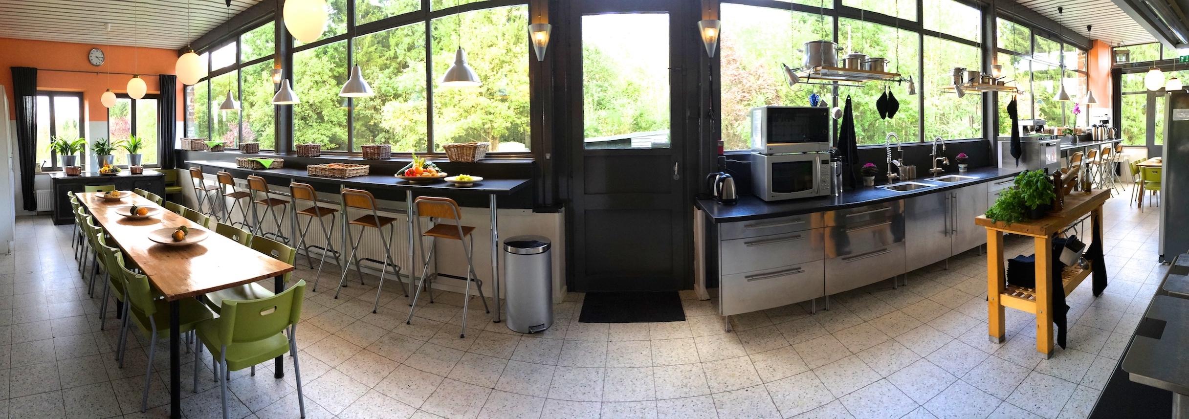 Ardennen Landgoed Le Herou Ardenshuis met geweldige keuken 17m