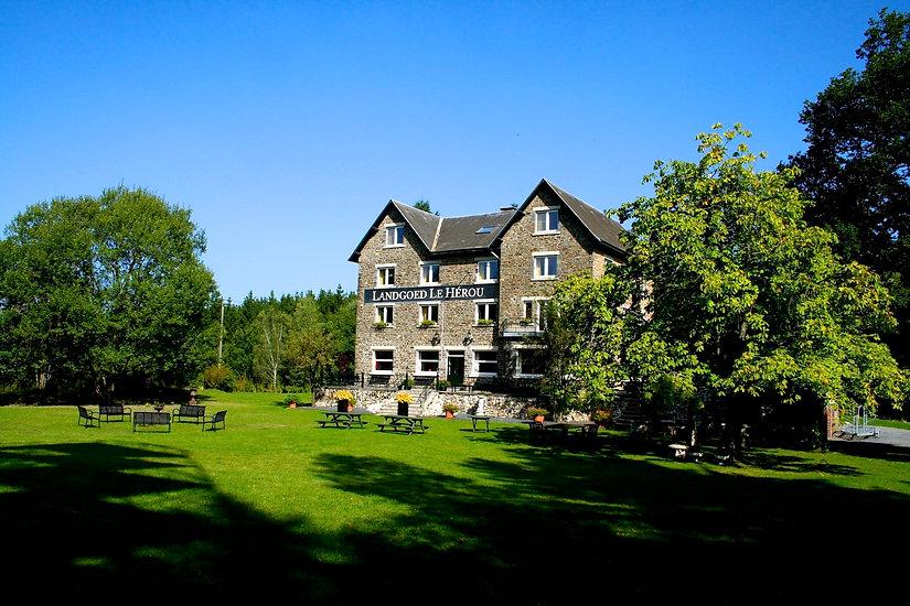 Vakantiehuis Ardennen Landgoed Le Herou