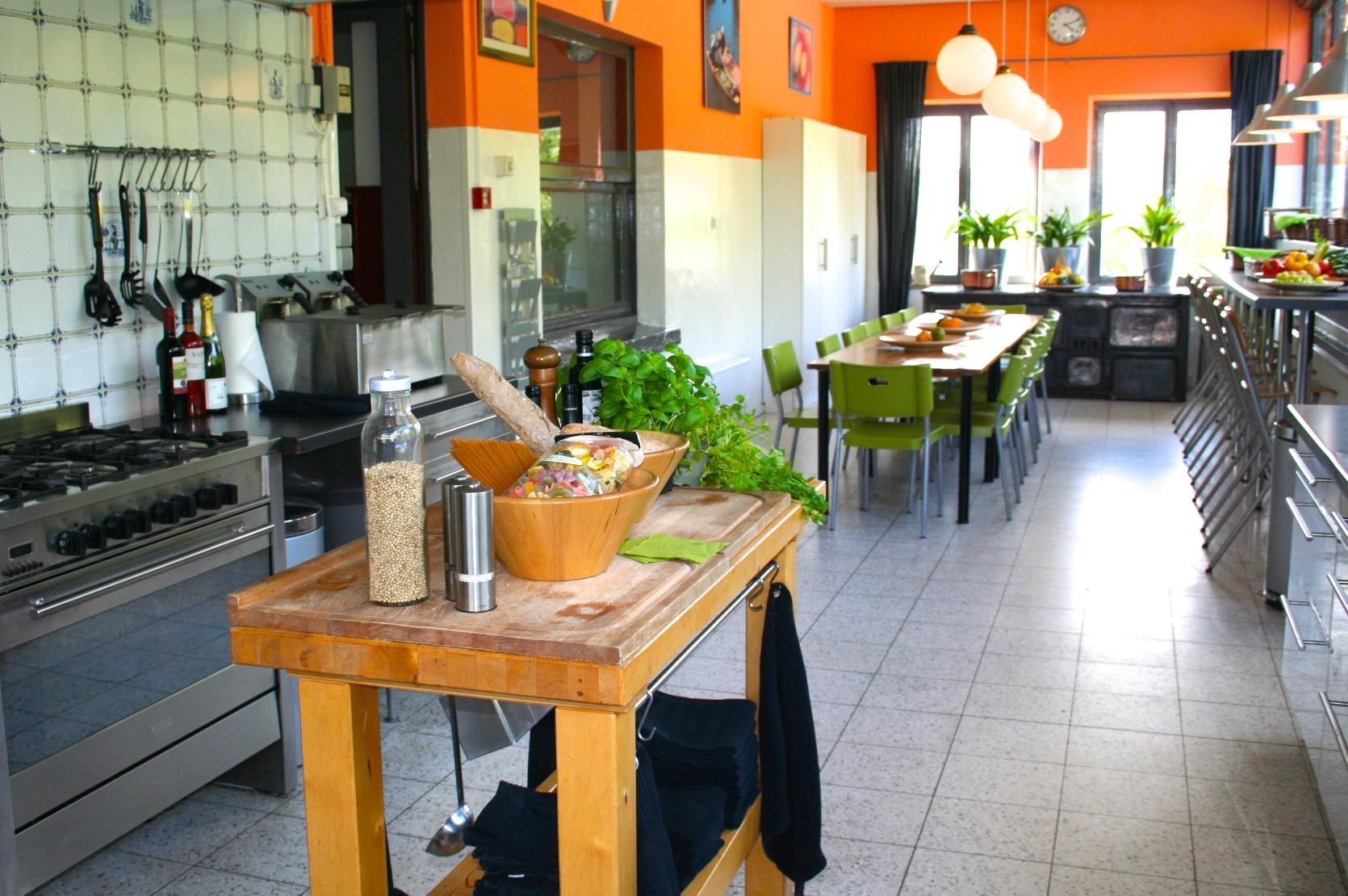 Ardennen Landgoed Le Herou bgg keuken r