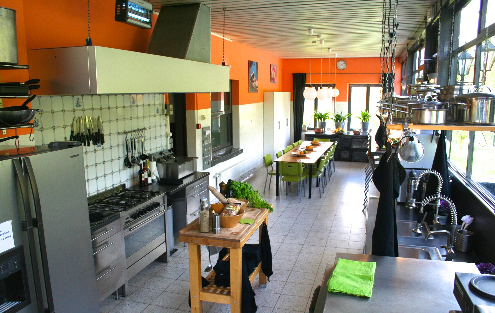 Ardennen Vakantiehuis 17m keuken