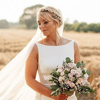 Boho wedding hair west sussex