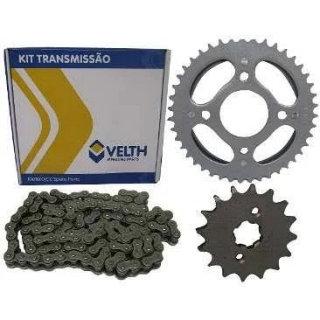 Kit Relação CG 150 Titan/Fan/Start Velth Aço 1045 S Retentor