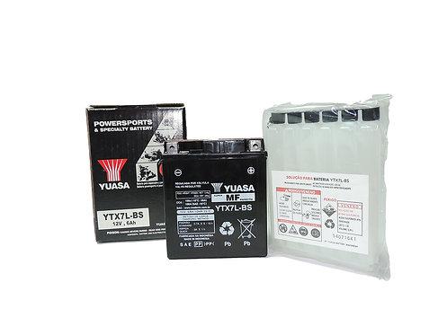 Bateria Yuasa Ytx7l-bs De Longa Duração