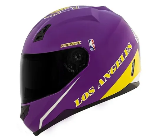 Capacete Norisk FF391 Stunt NBA Los Angeles Lakers