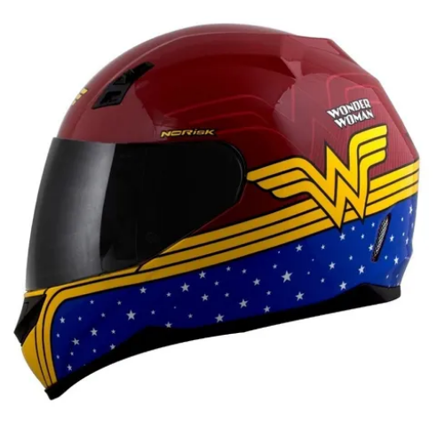 Capacete Norisk Wonder Woman Hero