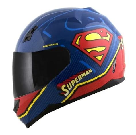 Capacete FF391 Norisk Superman Super