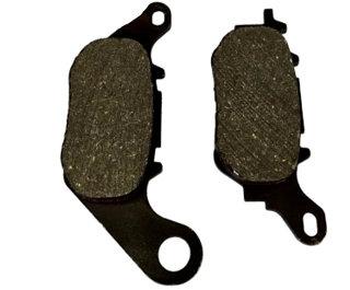 Pastilha freio dianteira titan150, fan150, fan160 09/17, fan125 14/17