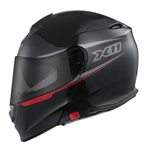Capacete Moto X11 Turner Articulado Viseira Solar