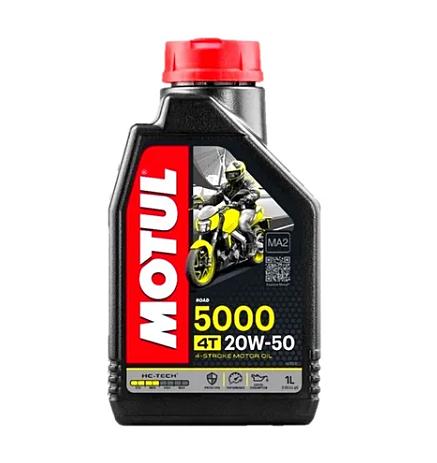 Óleo Motul 5000 4t 20w-50 Hc-tech Semissintético
