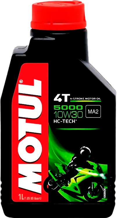 Óleo Motul 4T 5000 10W30 MA2 HC-TECH