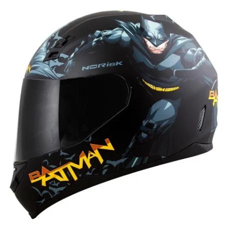 Capacete Norisk FF391 Stunt Batman Hero