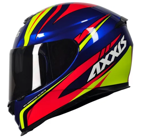 Capacete Axxis Hybrid Race Blue