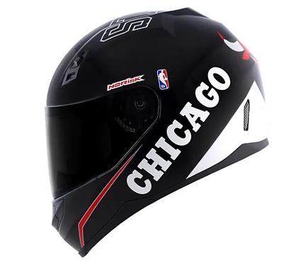 Capacete Norisk Coleção NBA Chicago Bulls