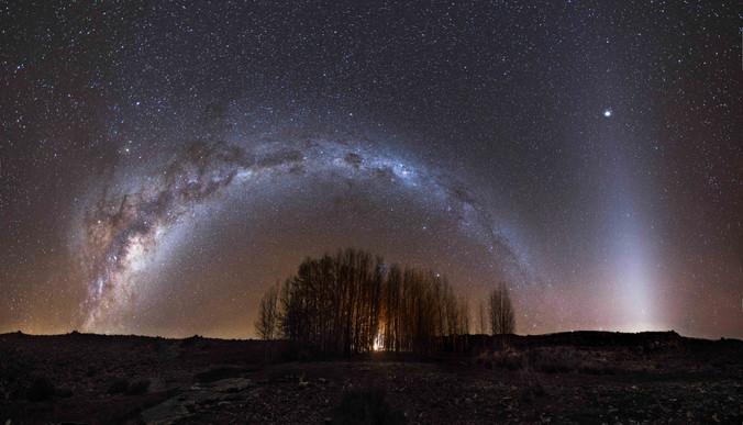 Sutherland Forest Panorama