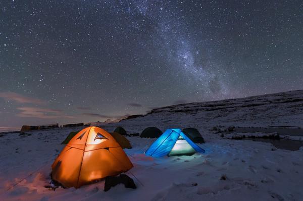 Drakensberg Snow Camping