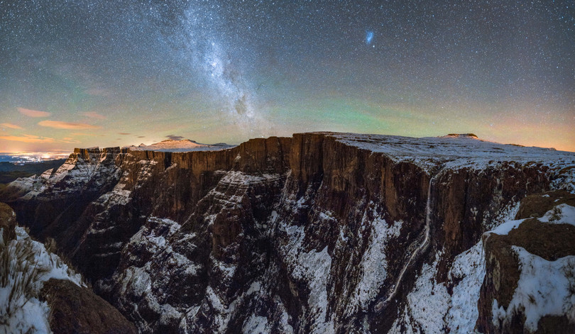 Drakensberg Night Panorama