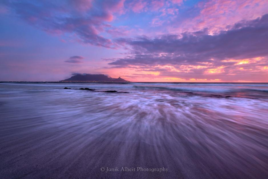 Blouberg Pink Sunset