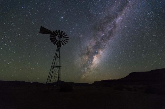 Starry Windpomp