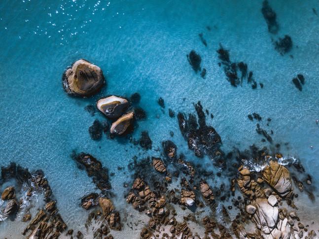 Clifton Beach Rocks