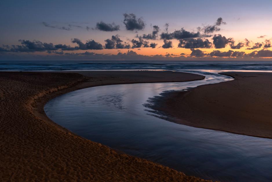 Wilderness River Sunset