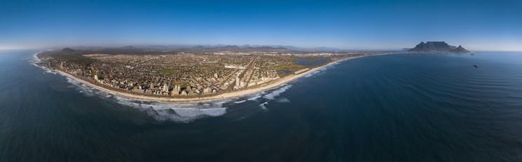 Blouberg Aerial Panorama