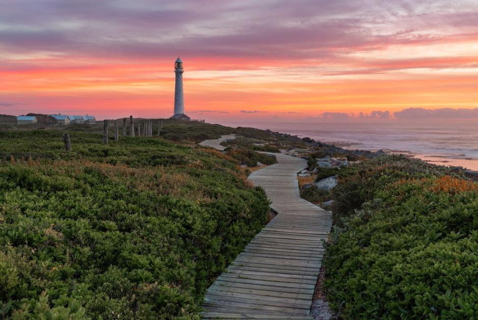 Slangkop Lighthouse Pastel Sunset