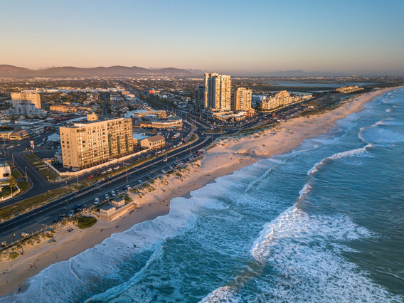 Blouberg Beachfront Aerial