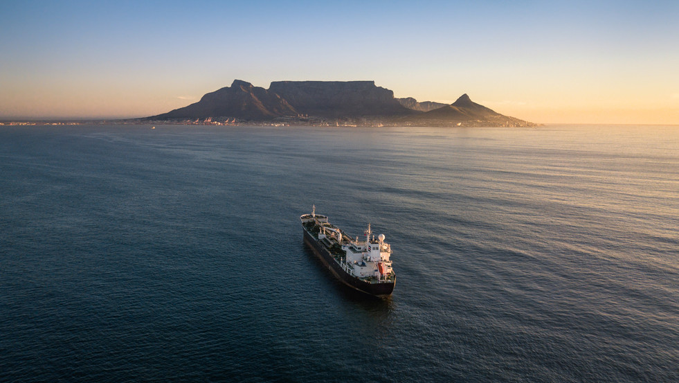 Cape Town Cantainer Ship