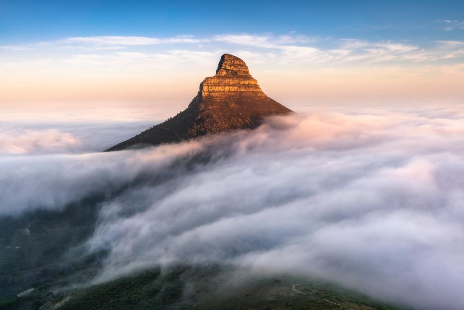 Lionshead Morning Fog