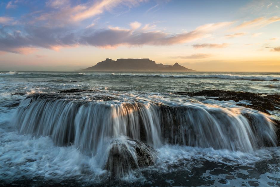 Table Mountain Rocks Waterfall