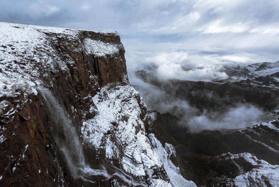 Tugela Falls Snowy