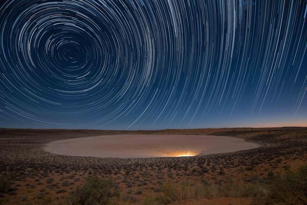 Kalahari Startrail