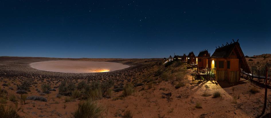 Xaus Lodge Night Panorama