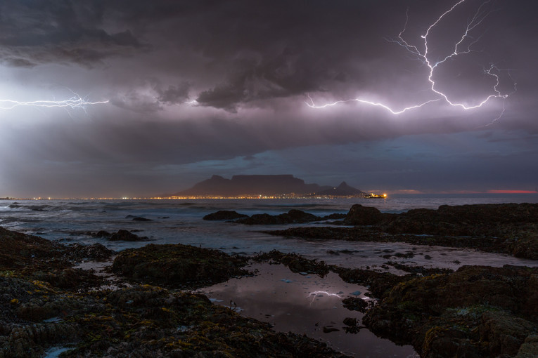 Cape Town Lightning Bolt
