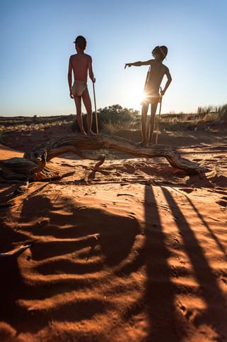 Khoisan Bushman