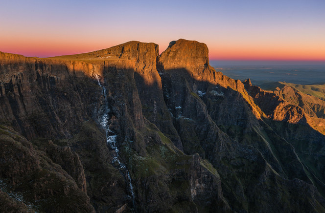 Drakensberg Sentinel Sunrise
