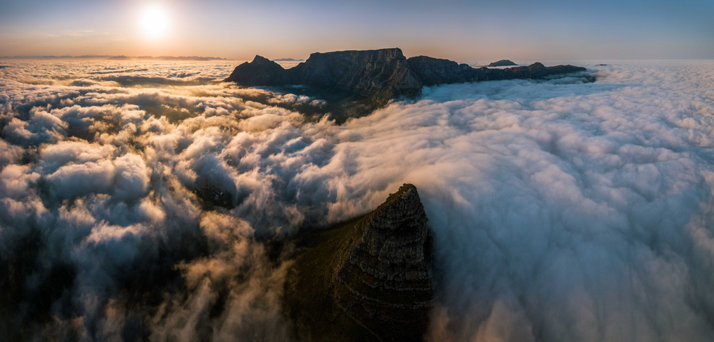 Cape Town Table Mountain Panorama