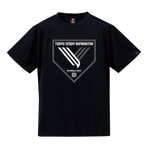 TVB ホームロゴTシャツ ブラック