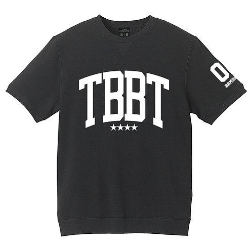 TBBTショートスリーブスウェット ブラック