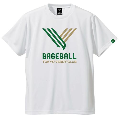 TVB V-IconドライTシャツホワイト