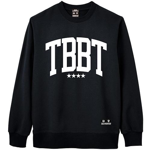 TBBTスウェットトレーナー ブラック