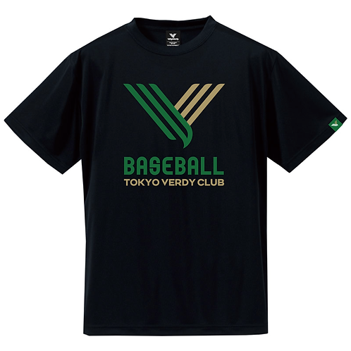 TVB V-IconドライTシャツ ブラック