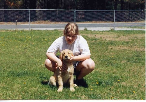 My third Golden, Jenny 1993